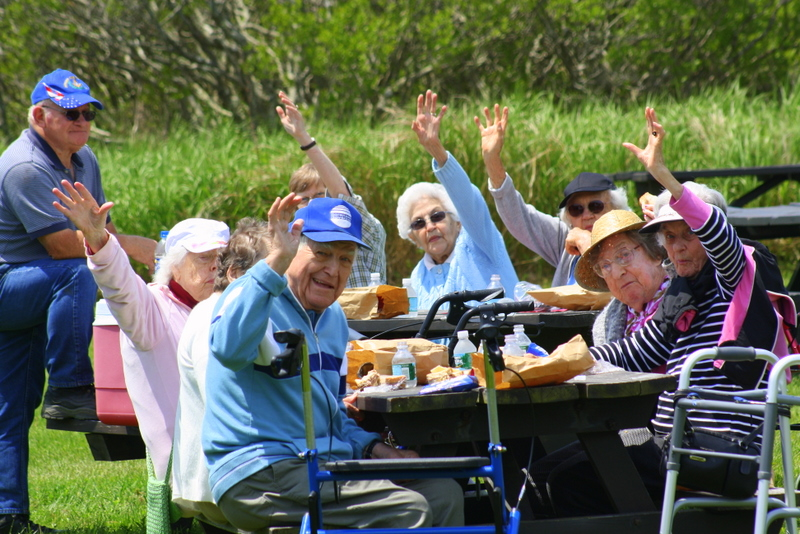 Assisted Living Picnic at Reid State Park